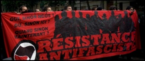 Initiatives antifas : Acta non verba