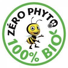 Logo Zéro phyto 100% bio